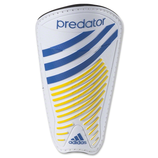 adidas Predator Pro Moldable 13 Shinguard (White/Vivid Yellow)