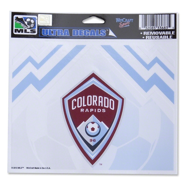 Colorado Rapids 5 x 6 Ultra Decal