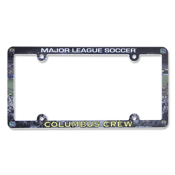 Columbus Crew Soccer License Plate Frame