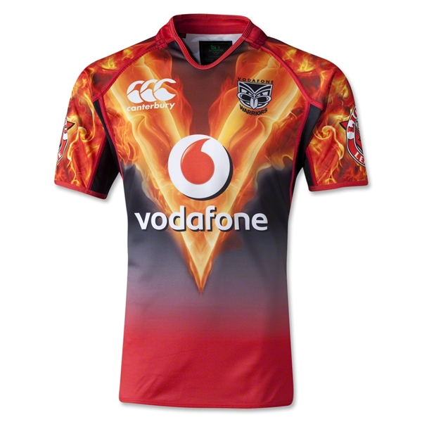 New Zealand Warriors Rugby League Training Jersey