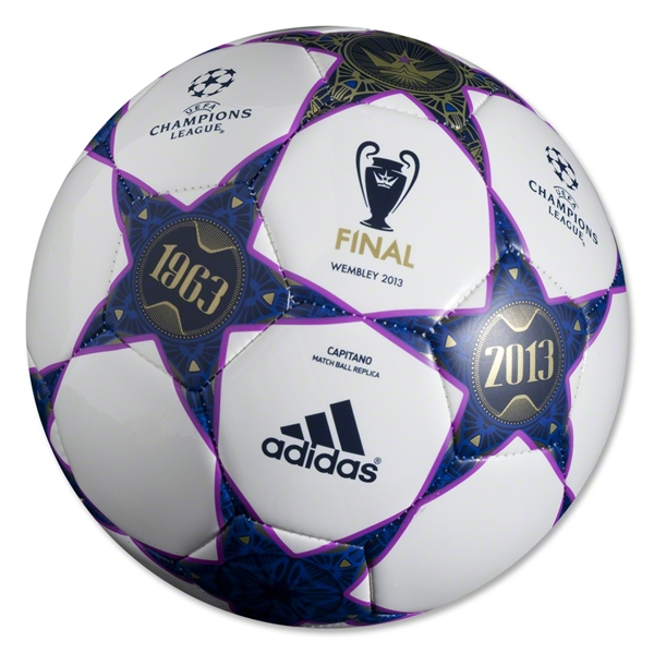 adidas UEFA Champions League Finale Wembley Capitano Ball (White/Vivid Pink)