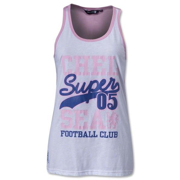 Chelsea Women's Super Racer Tank (White)