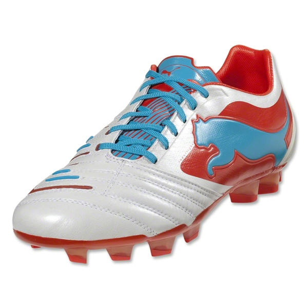 PUMA Powercat 1 SL FG (Metallic White/Orange)