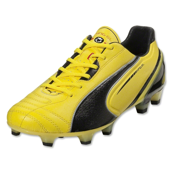 PUMA King SL FG (Blazing Yellow/Black)
