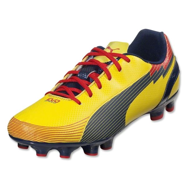 PUMA evoSpeed 5 Graphic FG (Blazing Yellow/Medieval Blue)