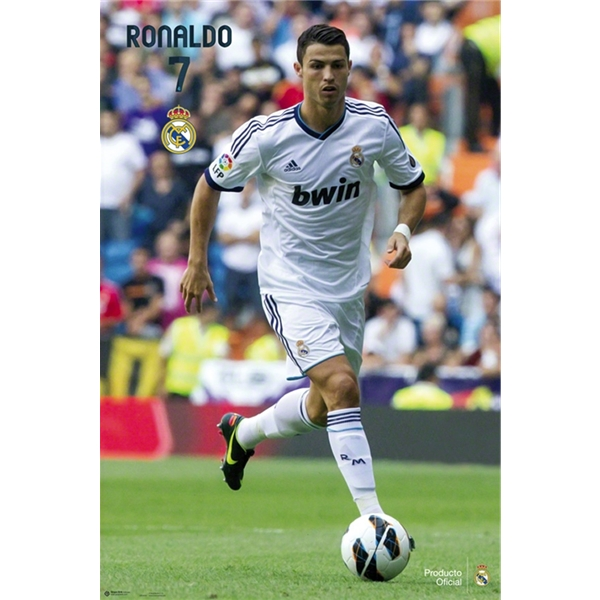 Real Madrid 12/13 Ronaldo Poster