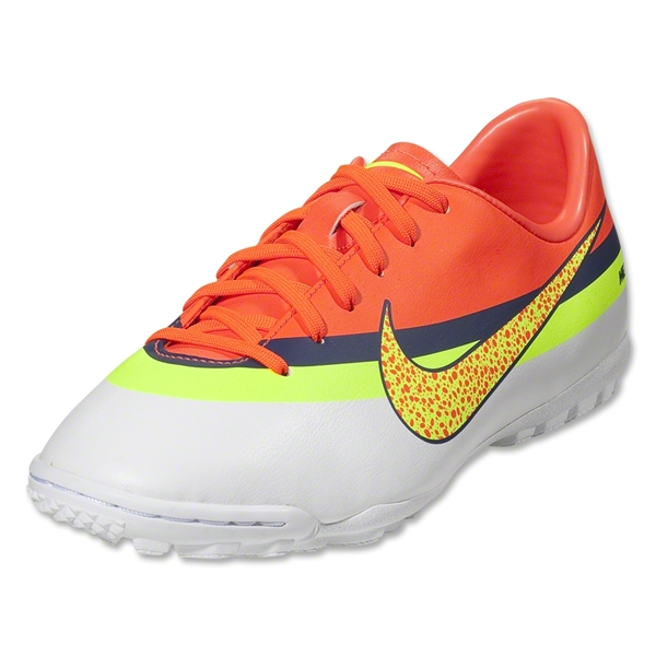 Nike Junior Mercurial Victory IV CR TF (White/Volt/Total Crimson)