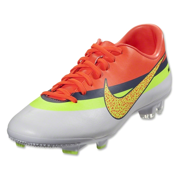 Nike Mercurial Victory IV CR FG (White/Volt/Total Crimson)