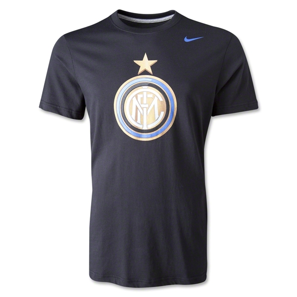 Inter Milan Core Basic Crest T-Shirt
