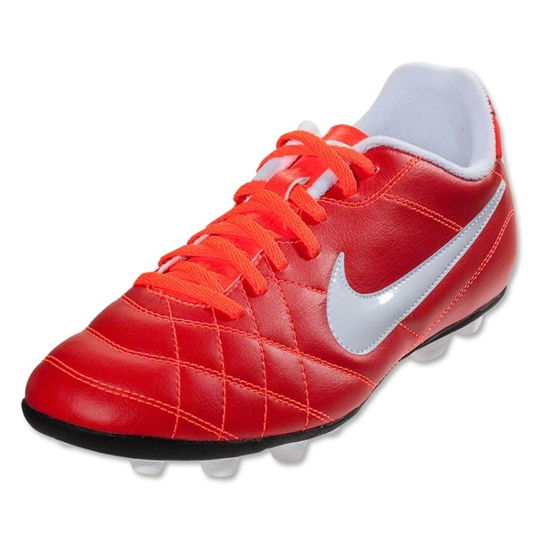 Nike Tiempo Rio FG-R Junior (Sunburst/White/Total Crimson)