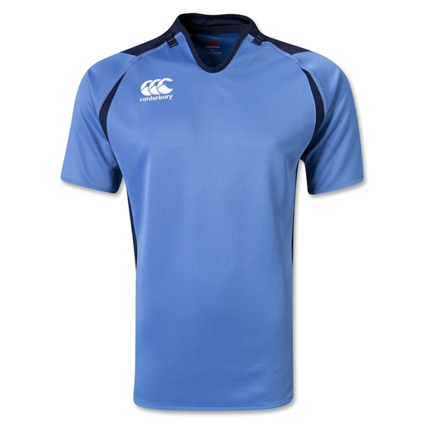 Canterbury Challenge Rugby Jersey (Sky/Navy)