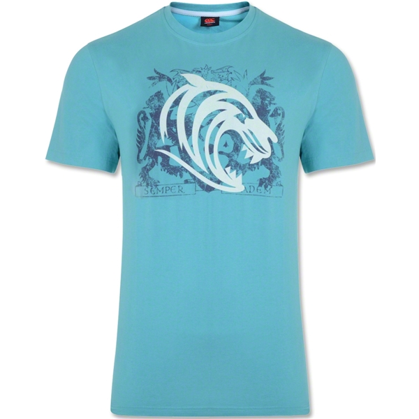 Leicester Tigers Distressed Supporter T-Shirt