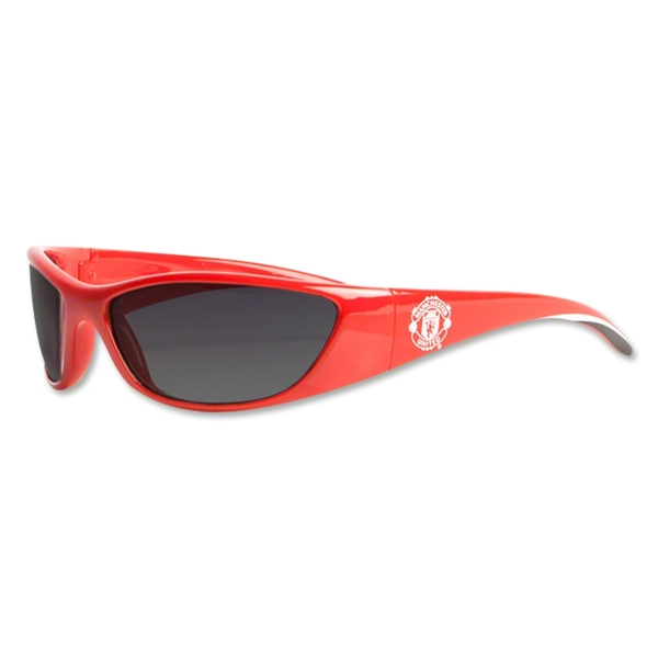 Manchester United Wrap Sunglasses (Red)
