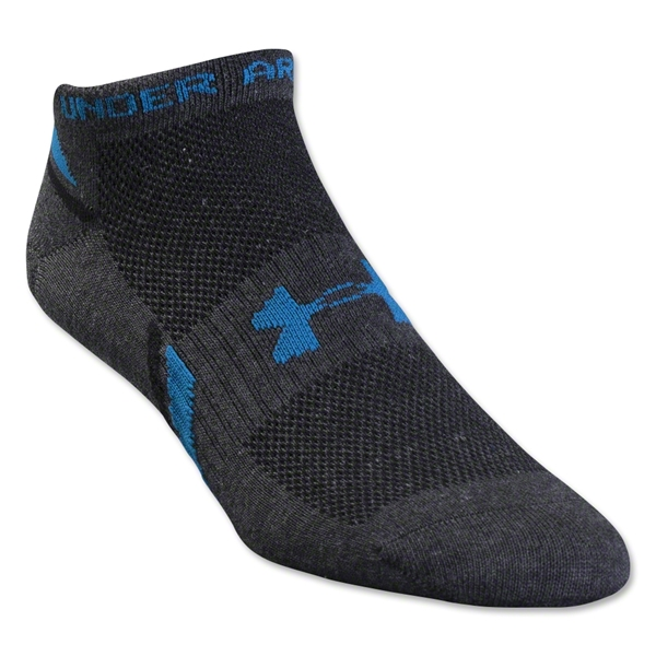 Under Armour Phantom Heatgear Low Cut Sock 3-Pack (Black/Sky)