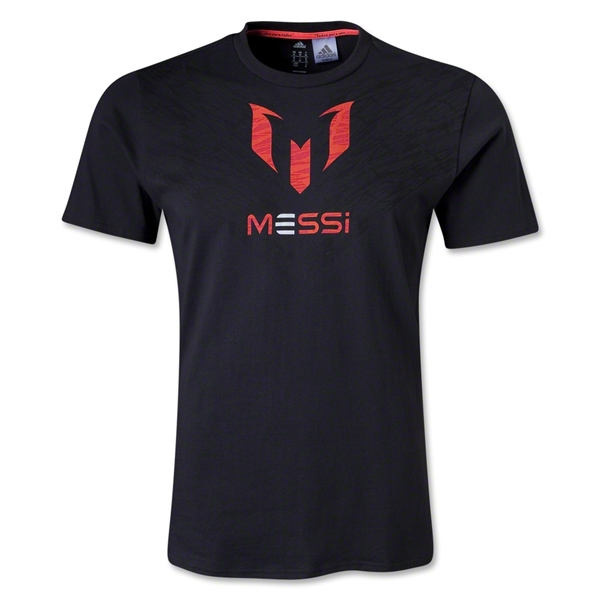 adidas F50 Messi Graphic T-Shirt (Black)