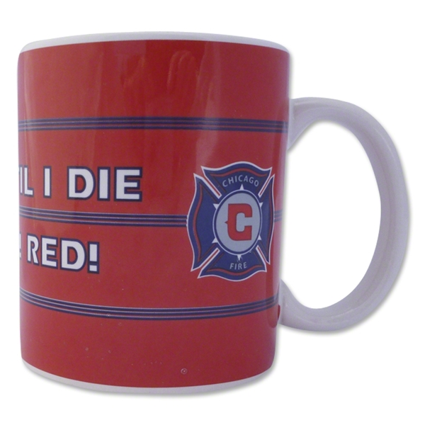 Chicago Fire Scarf Mug Set of 2