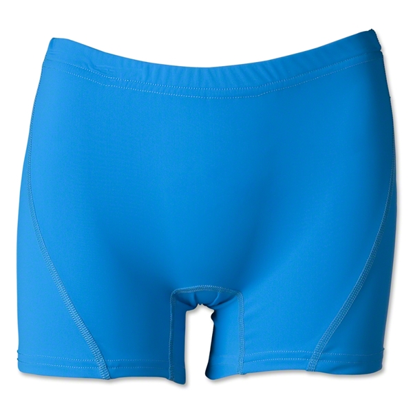 Women's 4 Compression Short (Turquoise)
