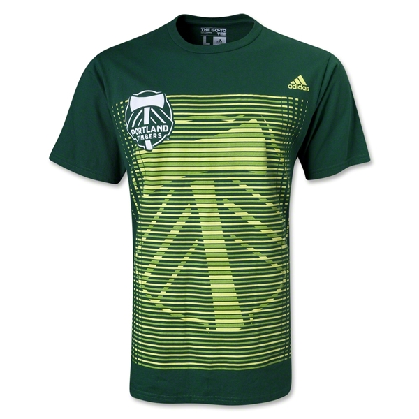 Portland TImbers Stripes T-Shirt