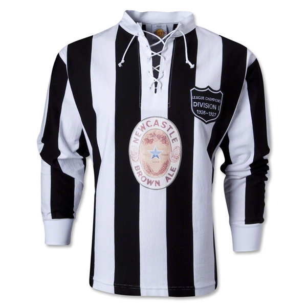 Newcastle United Brown Ale 80 Year Celebration LS Soccer Jersey