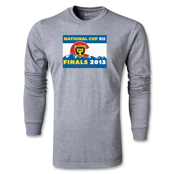 National Cup Finals 2013 LS T-Shirt (Gray)