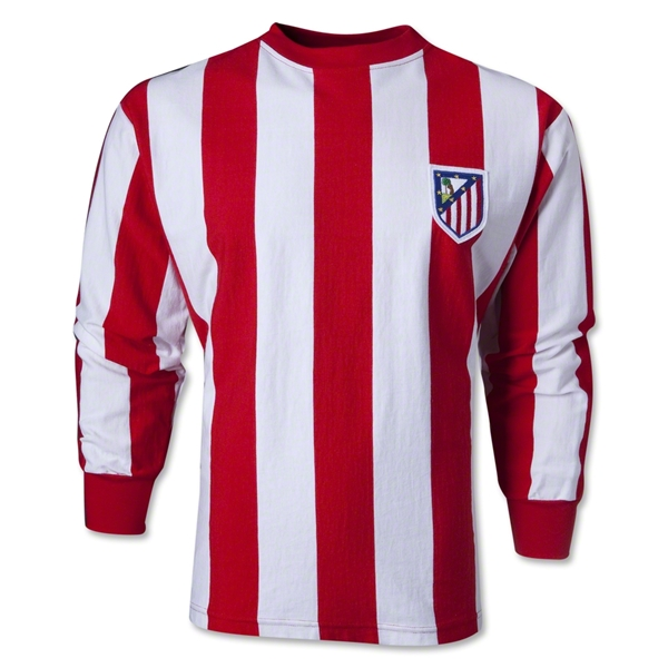 Atletico Madrid 60's Home Soccer Jersey