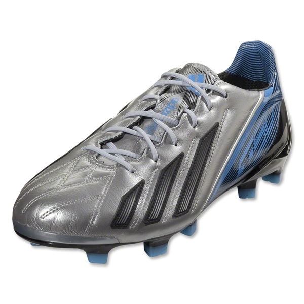adidas F50 adizero TRX FG miCoach compatible Leather (Metallic Silver/Black)