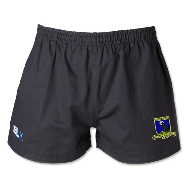 Media Rugby BLK Training Shorts Rugby Shorts (Black)