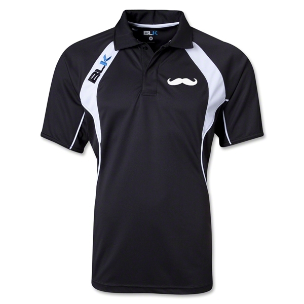 BLK Moustache Tek IV Polo (Black)
