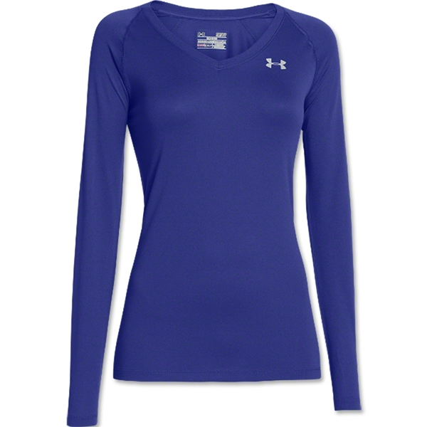 Under Armour Women's Tech Long Sleeve T-Shirt (Iris)