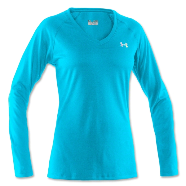 Under Armour Women's Tech Long Sleeve T-Shirt (Turquoise)