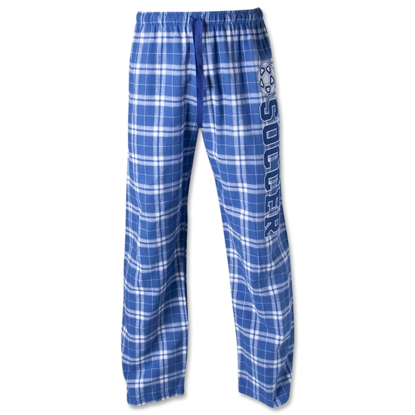 Flannel Plaid Pant (Royal/Gray)
