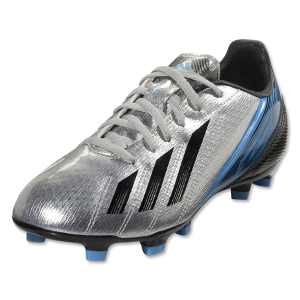 adidas F10 TRX FG Junior (Metallic Silver/Black)