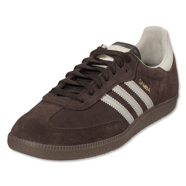 adidas Originals Samba Indoor Shoe (Mustang Brown/Bliss)