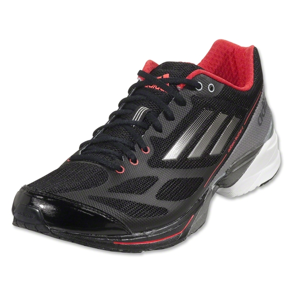adidas adizero Feather 2 Running Shoe (Tech Onix/Neo Iron Metallic)