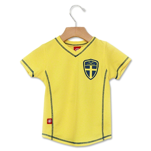 Sweden 2012 Toddler Soccer Jersey