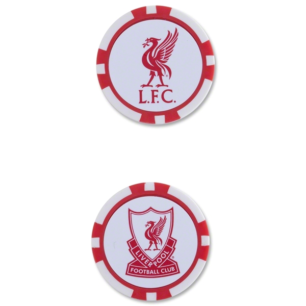 Liverpool Golf Poker Chip Markers