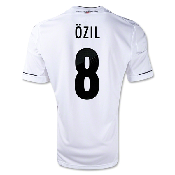 Germany 11/13 Mesut Ozil Home Soccer Jersey