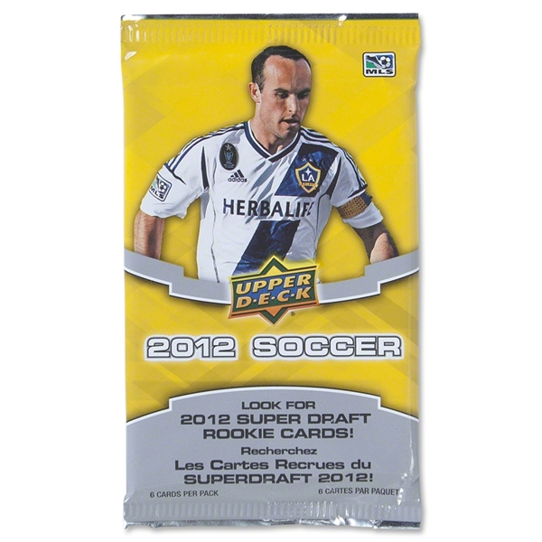MLS 2012 Upper Deck Trading Cards Pack