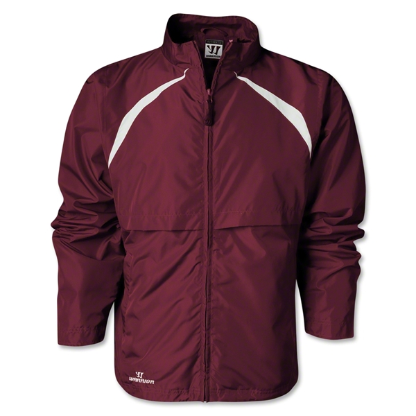 Warrior Motion Warm-Up Jacket (Maroon/Wht)