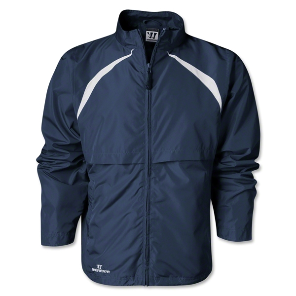 Warrior Motion Warm-Up Jacket (Navy/White)