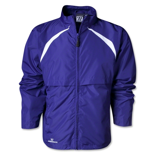 Warrior Motion Warm-Up Jacket (Pur/Wht)