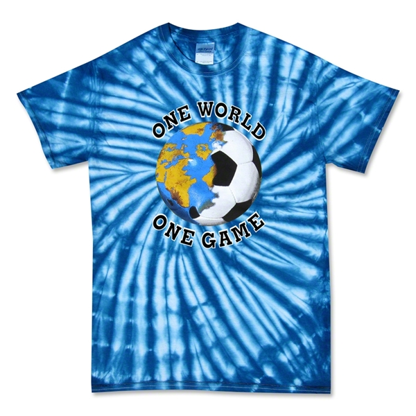 One World Tye Dye Soccer T-Shirt