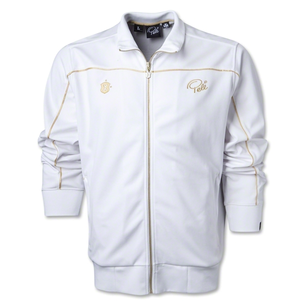 Pele Sports Street Track Jacket (White)