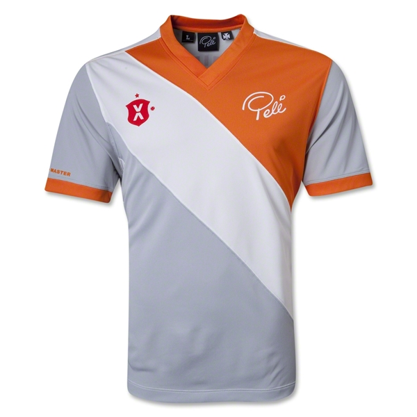 Pele Sports Social Solid Sash Gameday Jersey (Orange)