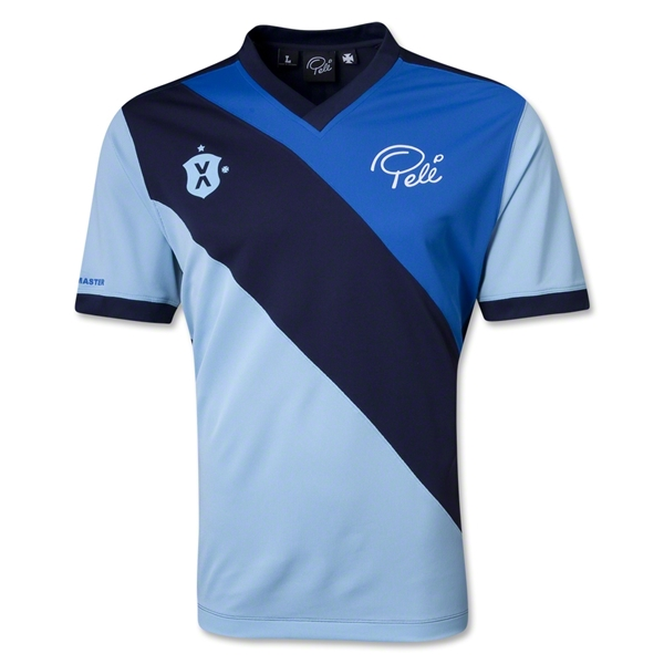 Pele Sports Social Solid Sash Gameday Jersey (Royal)