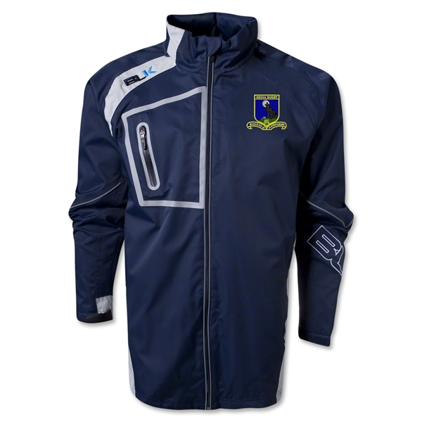 Media Rugby BLK Stratus Jacket (Navy)