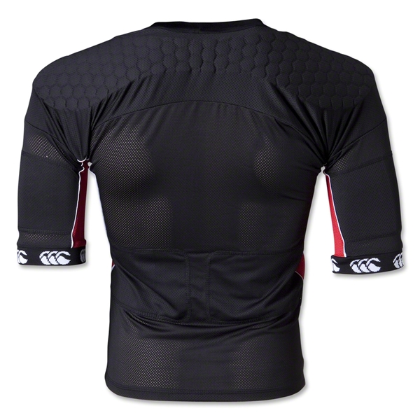 Canterbury CCC FlexiTop Plus Protective Vest (Black/Red)