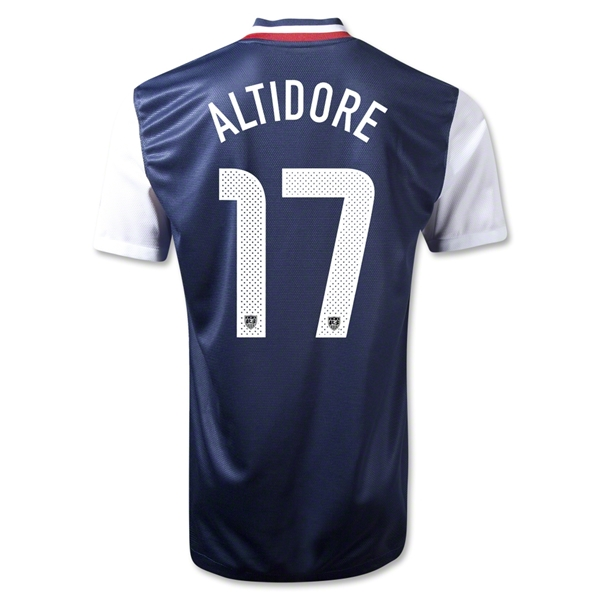 USA 12/13 Jozy Altidore Away Soccer Jersey
