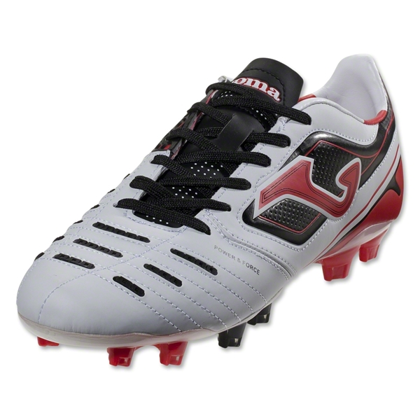 Joma Power FG (White/Black/Red)