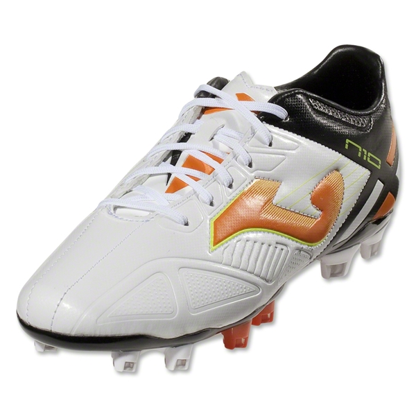 Joma Numero 10 (White/Black/Flame)
